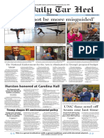 The Daily Tar Heel for March 29, 2017