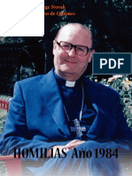 Jorge Novak, homilías 1984
