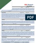 IEA Report 29th