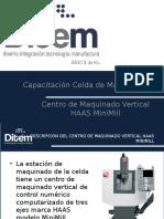 Capacitación Celda de Manufactura - CNC