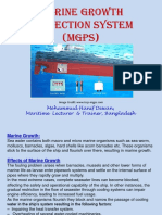 Marine Growth Protection System MGPS