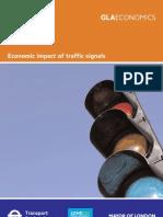 Economic impact of Traffic Signals - full report
