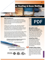 Watts Radiant Electric Floor Heating Catalog