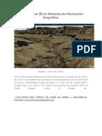 Herramientas 3D en Sistemas de Información Geográfica