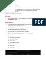 AS400 User Profile