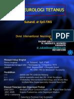 Kuliah Tetanus - Dr Subandi