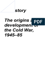 The Cold War Revision Notes