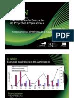 QREN - Estratégia para a Aceleração da Execução de Projectos Empresariais