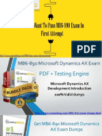 How Can I pass my MB6-890 Exam