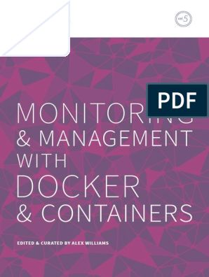 TheNewStack Book5 Monitoring and Management With Docker and