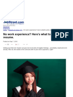 No Work Experience_ Here's What to Write on Your Resume