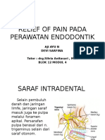 Relief of Pain B12M4