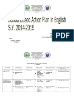 Action Plan in Eng & Science