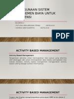 Akuntansi Manajemen Lanjutan Klp2