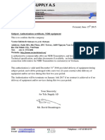 Telesupply - Authorization Letter