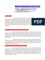 TPM - History & Basic Implementation Process