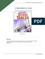 9789380027616 Steel Tables Mks Amp s i Units Doc