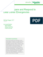 Wp 217 How to Prepare and Respond to Data Center Emergencies