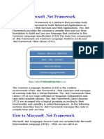 DOT NET Basics Important