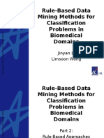 Classification in Data Mining