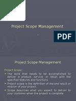 5 - Project Scope Management Ppt