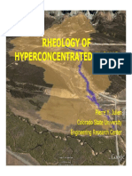 Rheology of Hyperconcentrated Flows