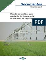 Modelcao Matematica Para Irrigacao_Embrapa_Cerrados