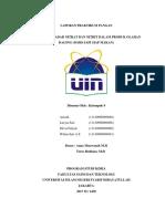 Laporan Uji Nitrat Dan Nitrit Sosis