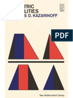 Kazarinoff - Geometric Inequalities.pdf