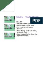 block tackle skill card
