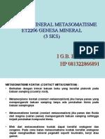(Metasomatisme)