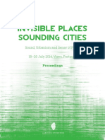 Invisible Paces Sounding Cities