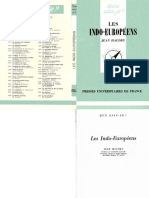 Jean Haudry - L'Indo-europeen Et Les Indo-Europeens