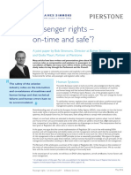 Passenger rights - on time and safe?
