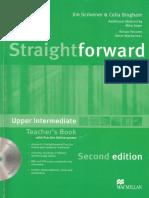 Straightforward 2e Upp TB