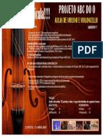 Cartaz Edital 001 -ABC Do o