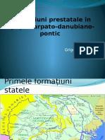Formațiuni Prestatale În Spațiulcarpato-danubiano-pontic
