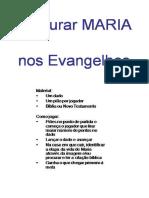 4o 5o 6o Ano Jogo Procurar Maria Nos Evangelhos