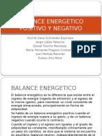 Balance Energetico Positivo y Negativo