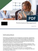 PPT Performance Management