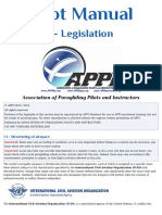APPI Pilot Manual Legislation