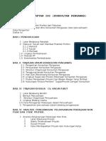 Outline Daftar Isi Pengawasan