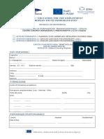 Application Form etwinning