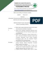 5.1.6 Ep 1 Sk Kewajiban Pj Ukm Dan Pelaksana Program Menfasilitasi Peran Serta Masyarakat