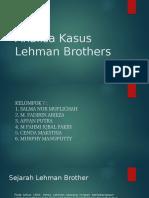 Analisa Kasus Lehman Brothers