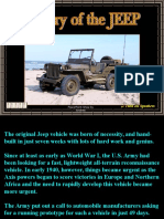 History Of theJeep