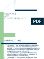 Mr t Pact and Competition Act