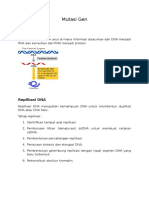 Mutasi Gen