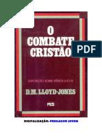 O Combate Cristão - D. M. Lloyd Jones.pdf