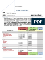 nursing skills checklist- finalized
